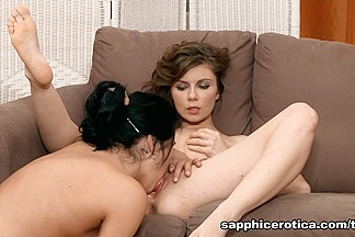 Kay & Marion in Passionate Oral - SapphicErotica