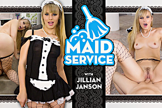 Jillian Janson in Maid Service - WankzVR