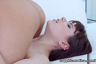 Cindy Bubble & Luna Rival in Anal wakeup - SapphicErotica