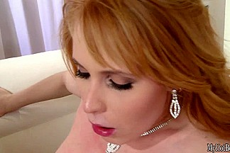 Amber Daikiri is a redheaded MILF on the rise in porn land thanks