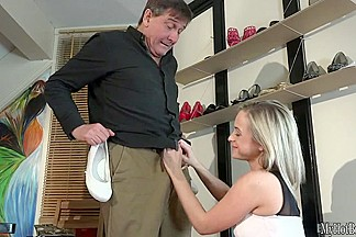 Cristal Caitlin has a fantasy of getting plowed by an older man. Shes
